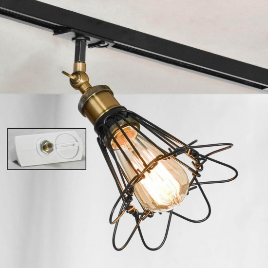 Трековый светильник однофазный Lussole LOFT Track Lights LSP-9109-TAW